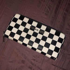 Checkered Michael Kors wallet